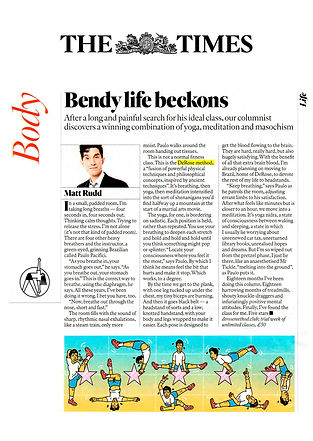 Review Derose Method - The Sunday Times Magazine