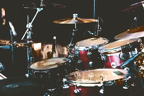 1-1 Drum Lesson (online)