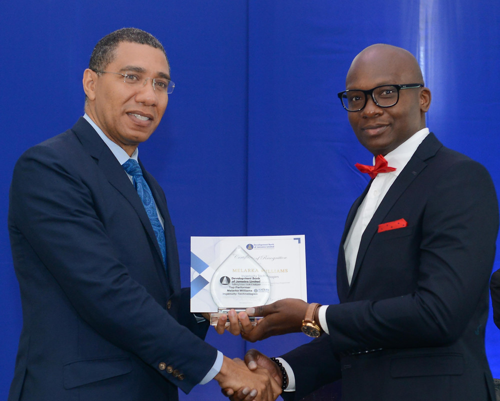 Ingenuity Technologies and the Prime Minister of Jamaica