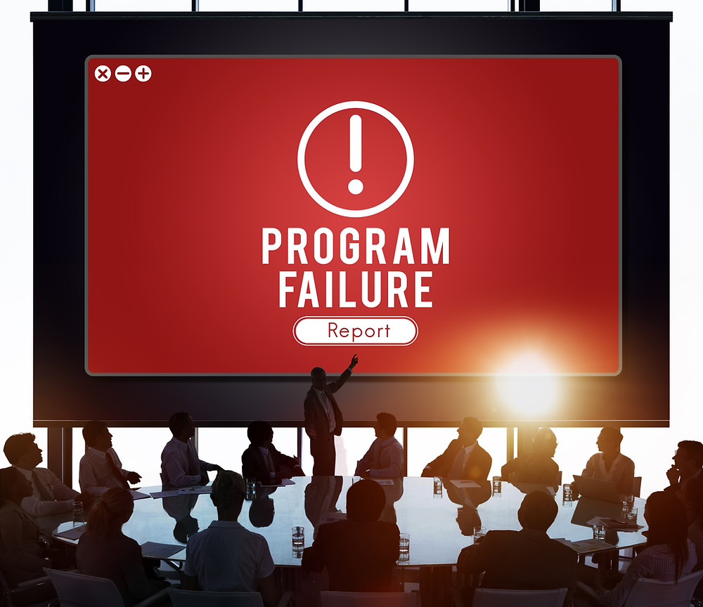 Software Development failure