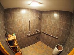 Shower room..