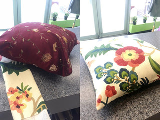 new pillow for spring!