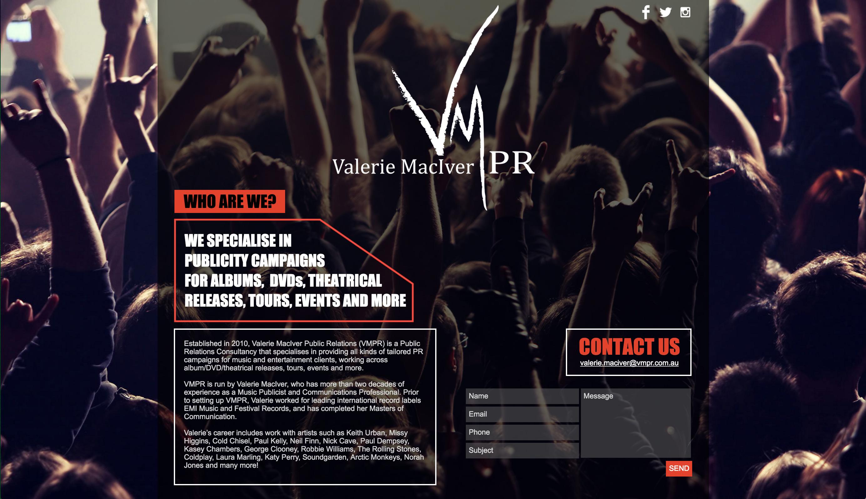 VMPR PUBLIC RELATIONS