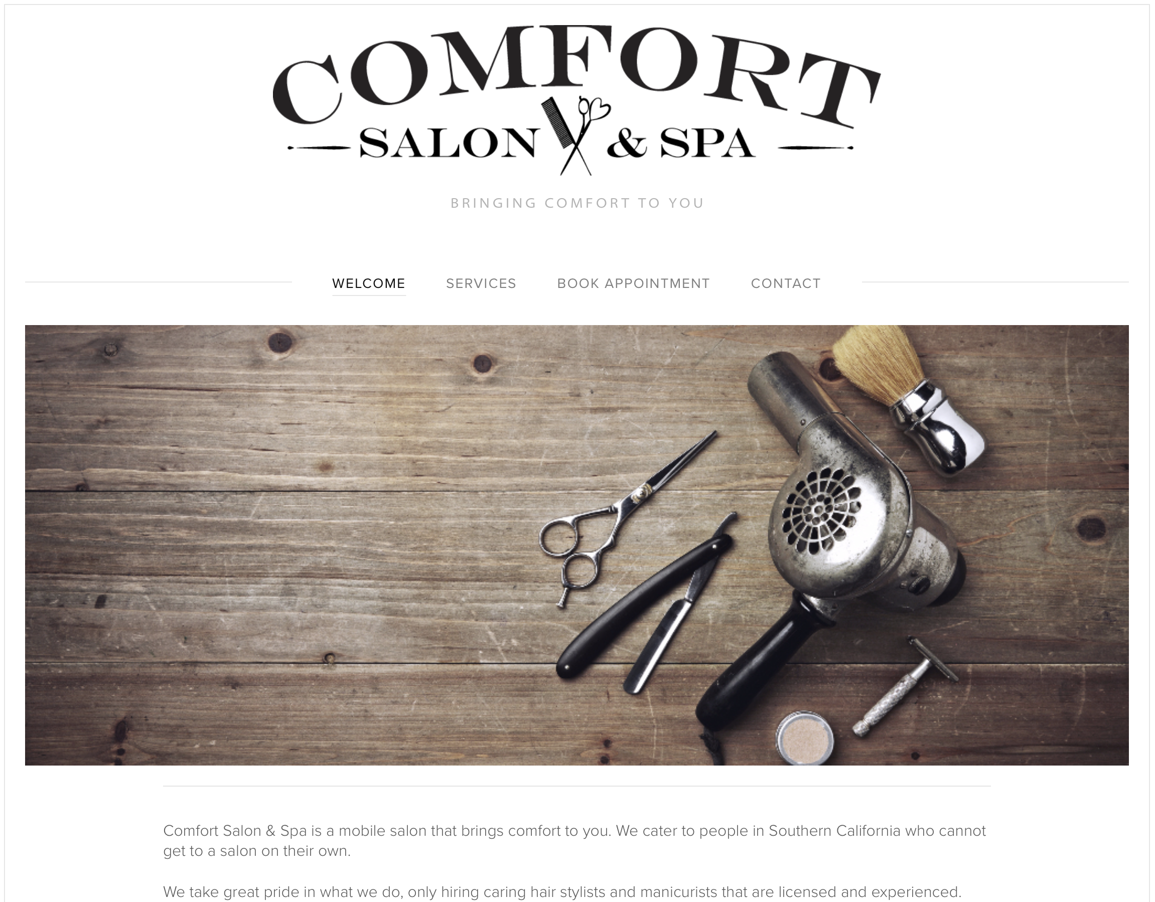 COMFORT SALON & SPA