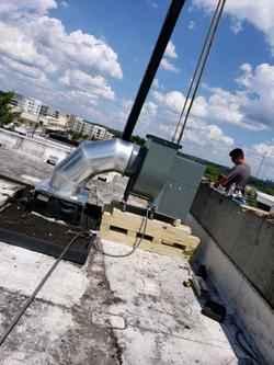 Rooftop HVAC
