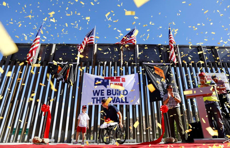 We build the wall done