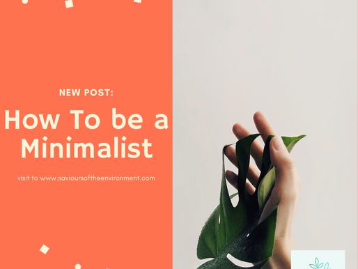 How To Be A Minimalist