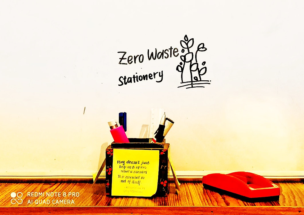 find out about how you can have a low waste stationery items