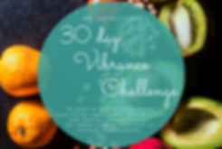 30 day vibrance challenge FB promo graph