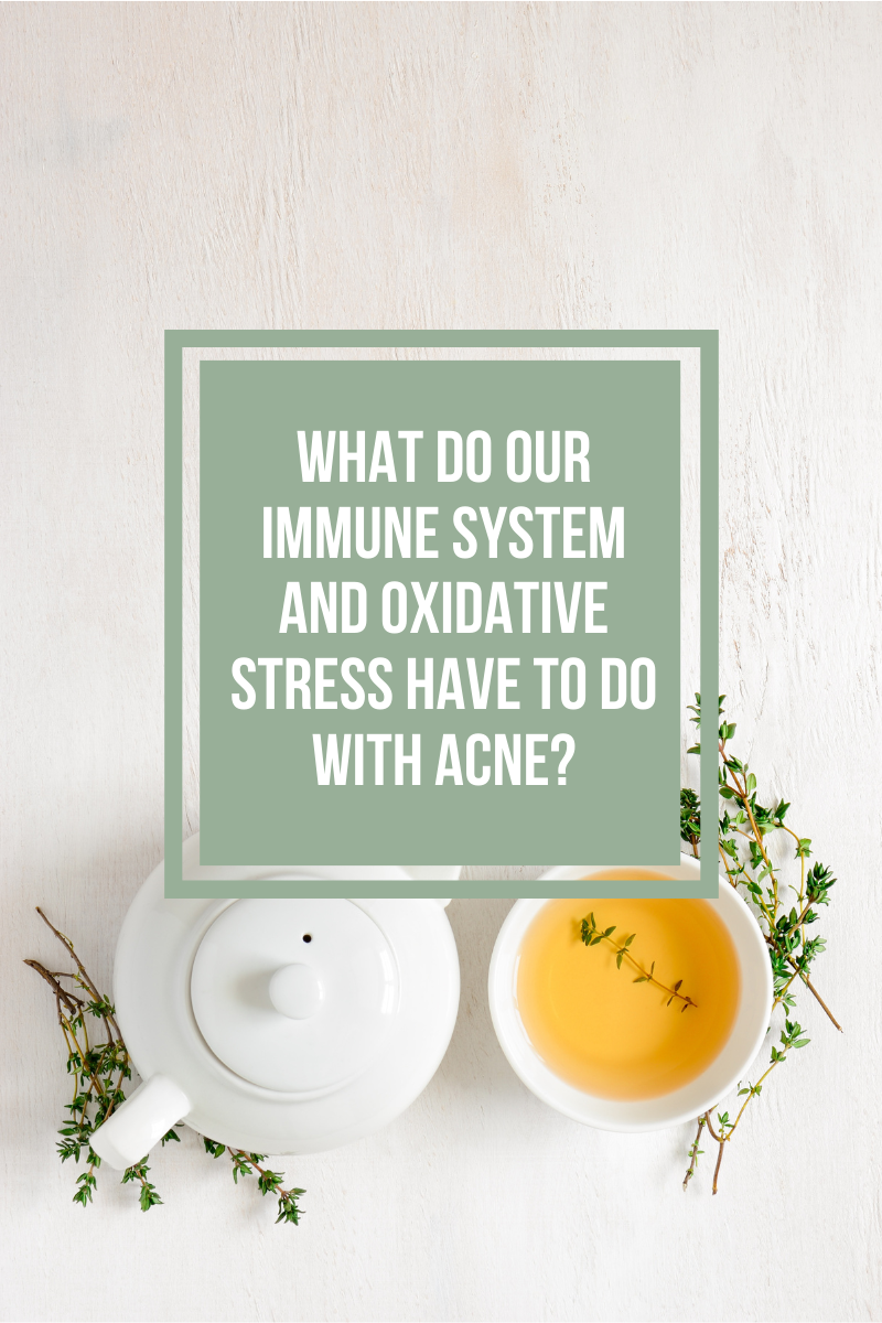 What causes acne, acne immune system, oxidative stress acne