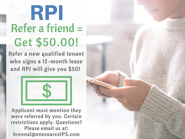 RPI Property Management - Refer a Friend