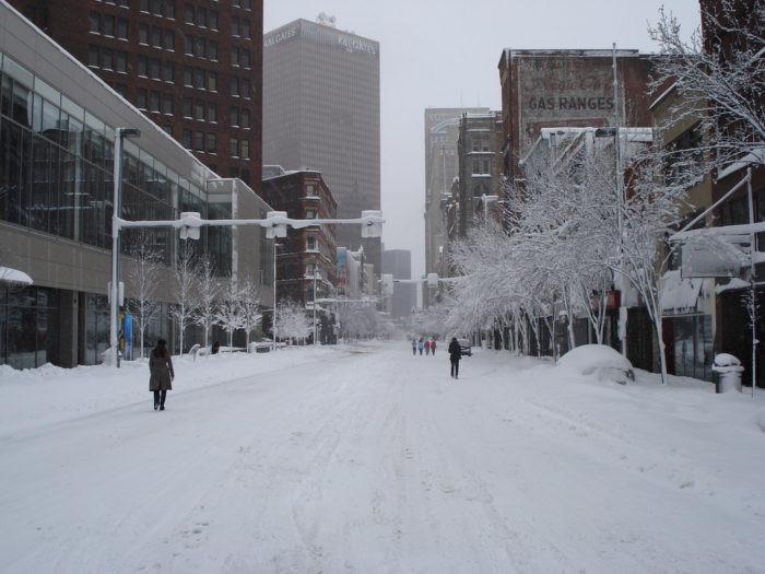 Flickr/Neill Turner - Pittsburgh Blizzard