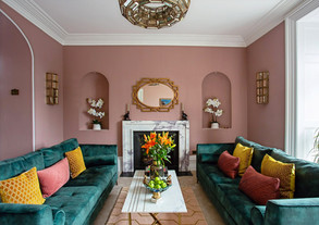 Art Deco Inspired Drawing Room
