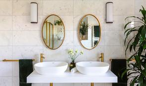 Decadent Marble Master Bathroom