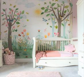 Whimsical Woodland Fairy Bedroom