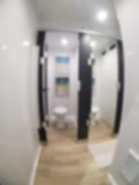 14.5-5 Pro Restroom Trailer Womens Stall