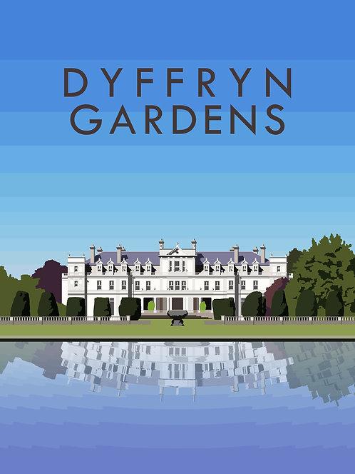 Dyffryn Gardens Print