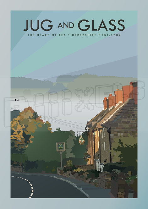 Jug & Glass, Derbyshire by Dawn Print