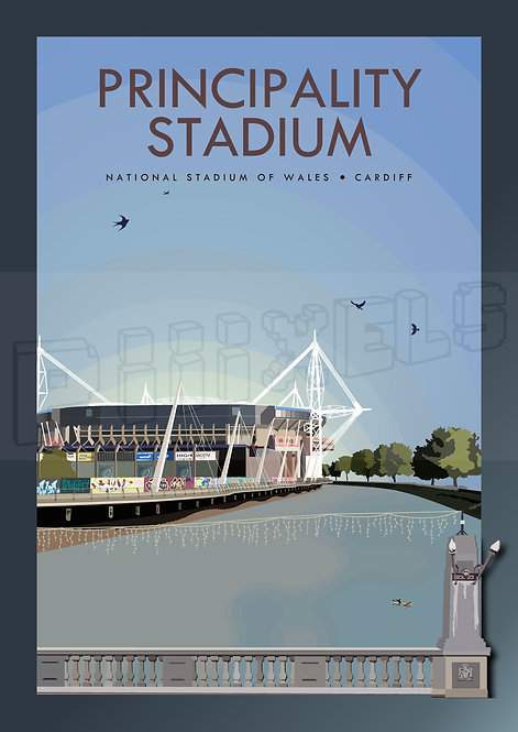 PRINCIPALITY STADIUM DAY POSTCARDS (Pack of 10)