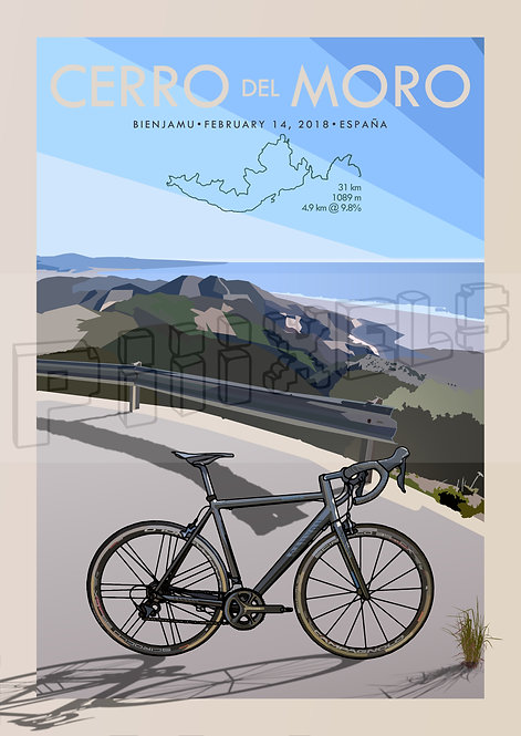 Customised Cycling Poster