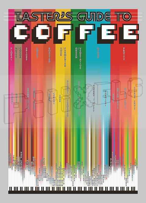 Coffee Postcard x5