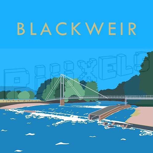 Blackweir Print