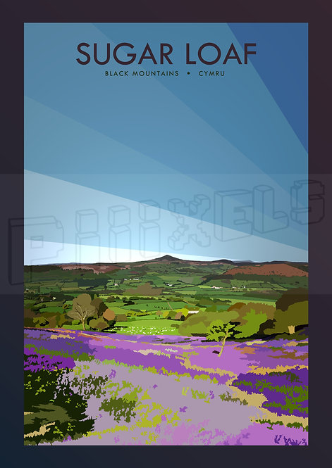 Sugar Loaf Print (Black Mountains Part 1/3)