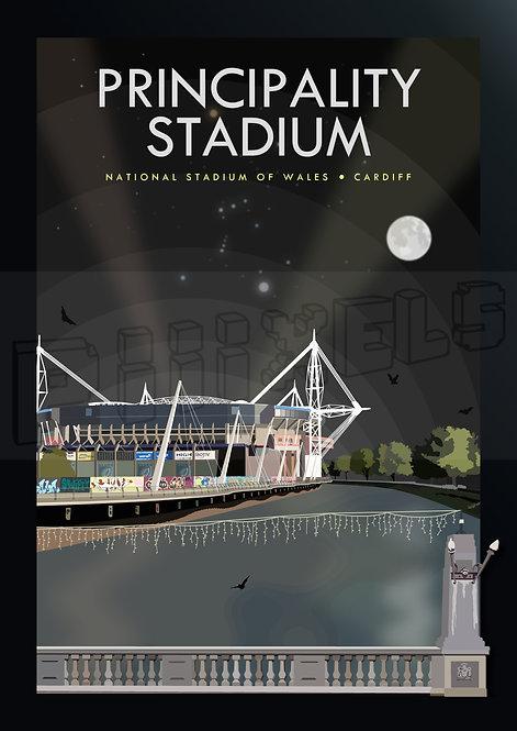 PRINCIPALITY STADIUM NIGHT POSTCARDS (Pack of 10)