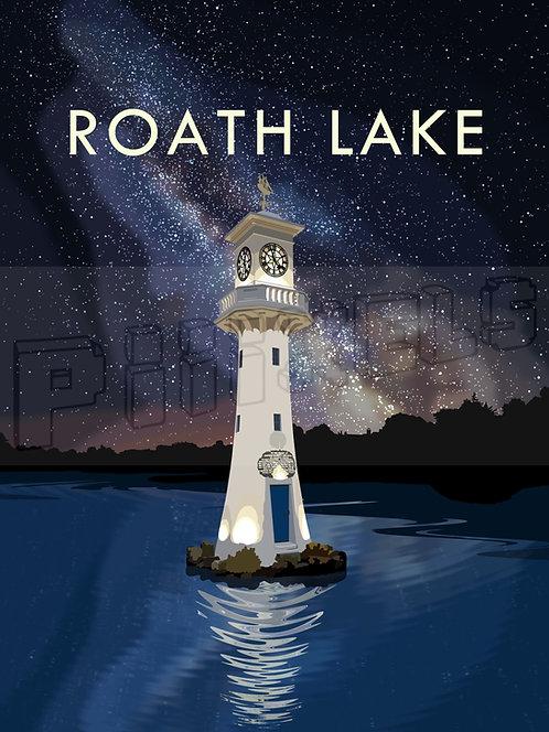 Roath Lake Print