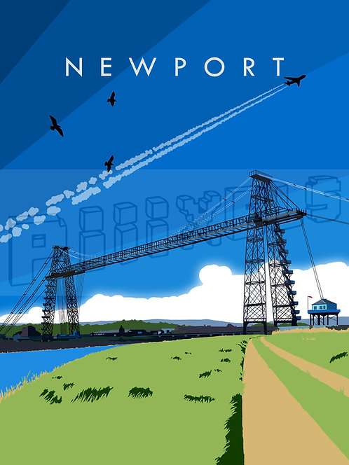 Newport Transporter Bridge Print