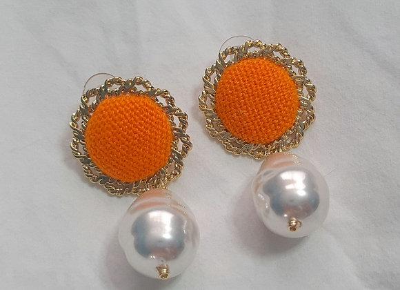 Lenca Pearl Earrings