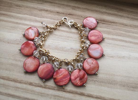 Shell Charms Bracelet