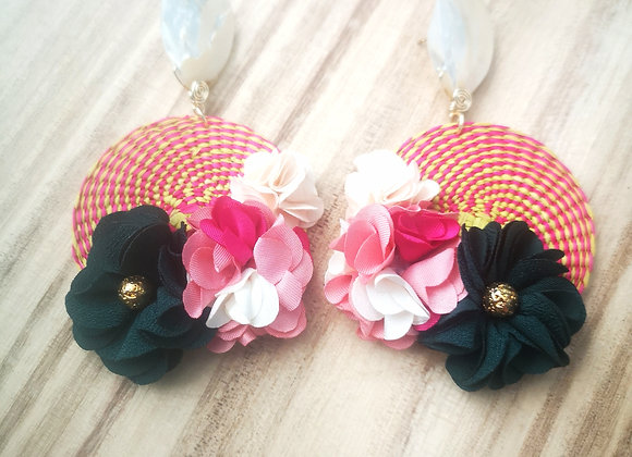 Junco Flower Earrings