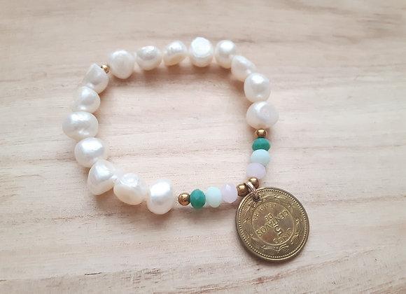 Lempira Coin bracelets