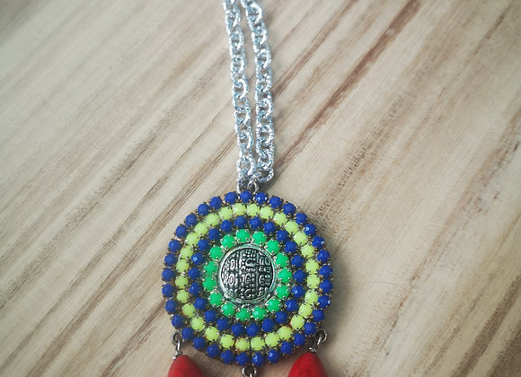 Summer Mayan Necklace