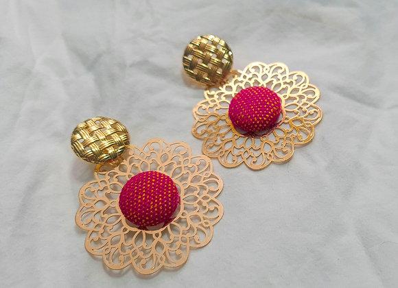 Lenca Mandala Earrings