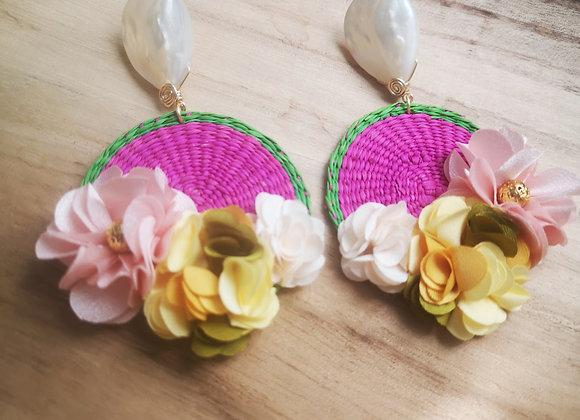 Junco Flower Earrings