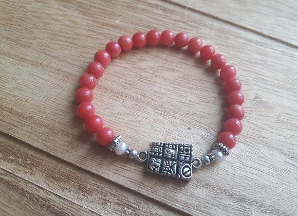 Mayan Glyph Bracelet