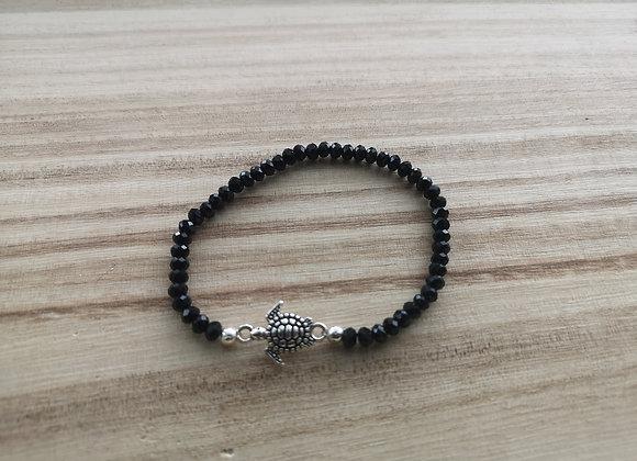 Turtle stacking bracelet