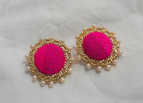 Lenca clip on Earrings