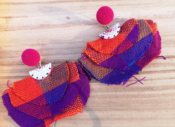 Vestiditos Lenca Fabric Earrings