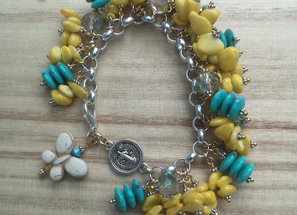 San Benito charms Bracelet