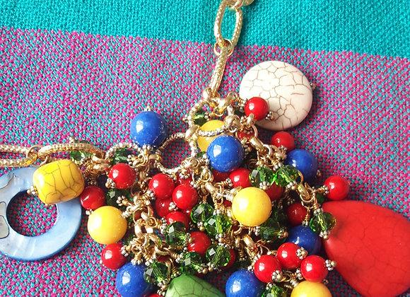 Mi Tierra Macaw Necklace