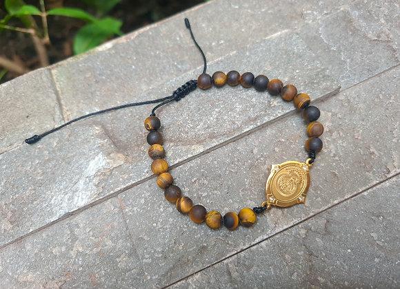 Adjustable Virgin of Suyapa bracelet