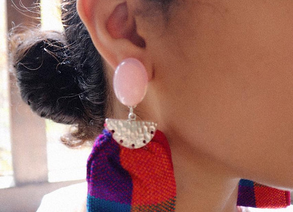 Lenca Fabric Earrings