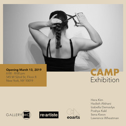 CAMP Art Exhibition at Gallery MC