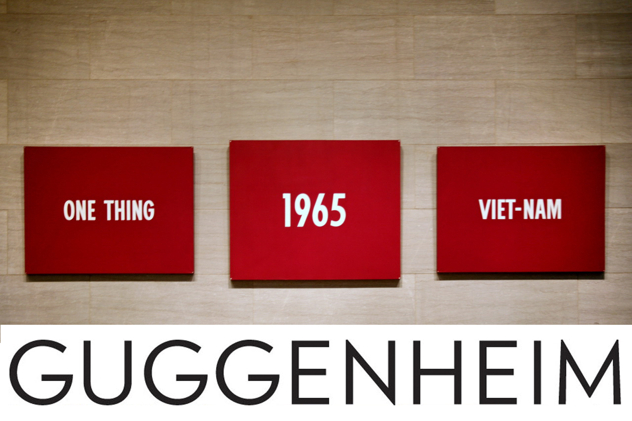 ON KAWARA AT THE GUGGENHEIM