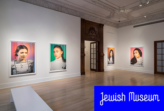 LAURIE SIMMOMS AT JEWISH MUSEUM
