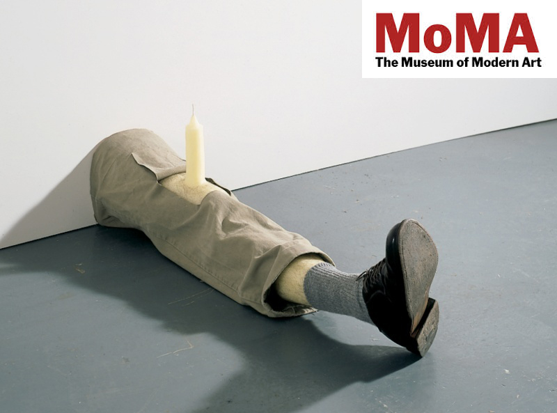 ROBERT GOBER AT MoMA
