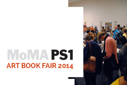 ART BOOK FAIR 2014 AT PS1